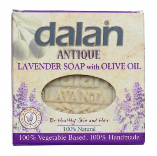 Dalan - ANTIQUE - Lavender Soap - Naturalne mydło lawendowe