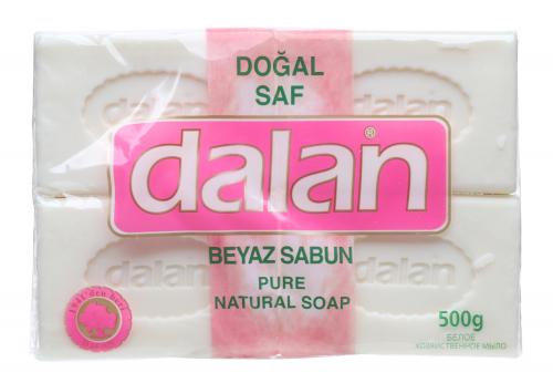 Dalan - Pure Natural Soap - A set of 4 natural bar soaps - White