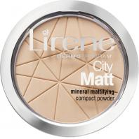 Lirene - City Matt - Mineral Mattifying Compact Powder - 01  TRANSPARENT - 01  TRANSPARENTNY