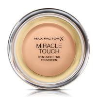 Max Factor - MIRACLE TOUCH - Skin Perfecting Foundation - Kremowy podkład do twarzy - 045 - WARM ALMOND - 045 - WARM ALMOND