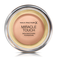 Max Factor - MIRACLE TOUCH - Skin Perfecting Foundation - Kremowy podkład do twarzy - 055 - BLUSHING BEIGE - 055 - BLUSHING BEIGE