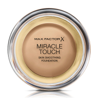 Max Factor - MIRACLE TOUCH - Skin Perfecting Foundation - Kremowy podkład do twarzy - 060 - SAND - 060 - SAND