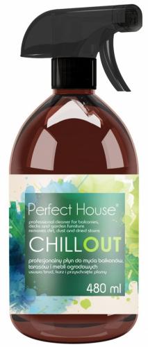 Perfect House - CHILLOUT - Profesjonalny płyn do mycia balkonów, tarasów i mebli ogrodowych