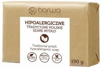 BARWA - BARWA HIPOALERGICZNA - HYPOALLERGENIC TRADITIONAL SOAP - Hypoallergenic Gray Soap - 190g
