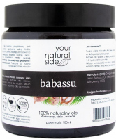 Your Natural Side - 100% Natural Babassu Oil - 100 ml