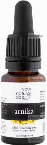 Your Natural Side - 100% naturalny olej z arniki - 10 ml