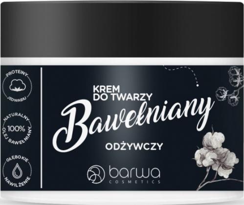 BARWA - Odżywczy krem bawełniany do twarzy