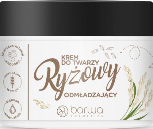 BARWA - Rejuvenating rice face cream