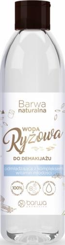 BARWA - Naturalna, micelarna woda ryżowa do demakijażu