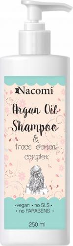 Nacomi - Argan Oil Shampoo - Szampon do włosów z olejem arganowym