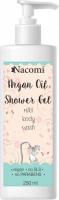 Nacomi - Argan Oil Shower Gel - Wegański żel pod prysznic z olejem arganowym - 250 ml