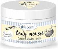 Nacomi - Body Mousse - Moisturizing body mousse - Coconut and banana shake