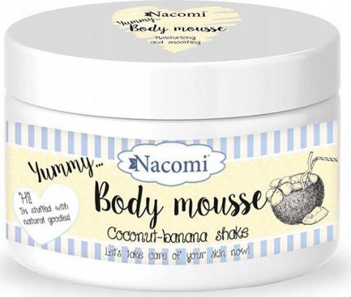 Nacomi - Body Mousse - Nawilżający mus do ciała - Kokosowo-bananowy shake