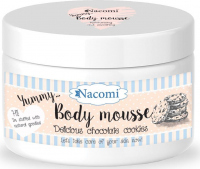 Nacomi - Body Mousse - Moisturizing body mousse - Chocolate cookie