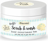 Nacomi - Scrub & Wash - Peeling and washing foam - Coconut and banana