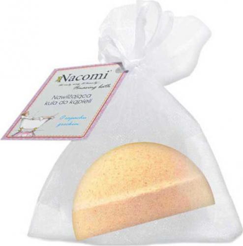 Nacomi - Fizzing Bath Bomb - Półkula musująca do kąpieli - Pomarańcza z wanilią