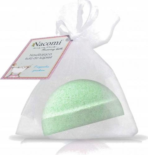 Nacomi - Fizzing Bath Bomb - Musująca półkula do kąpieli - Zielona herbata