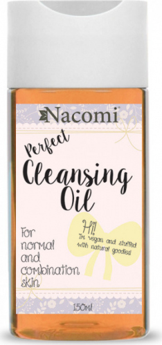 Nacomi - Perfect Cleansing Oil - OCM Makeup Removal Oil - Normal and combination skin