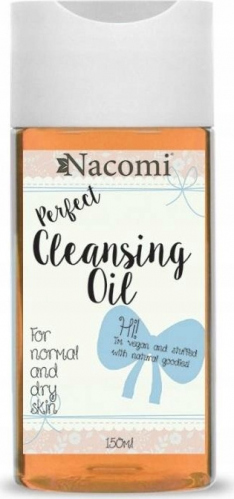 Nacomi - Perfect Cleansing Oil - Olejek do demakijażu metodą OCM - Cera normalna i sucha