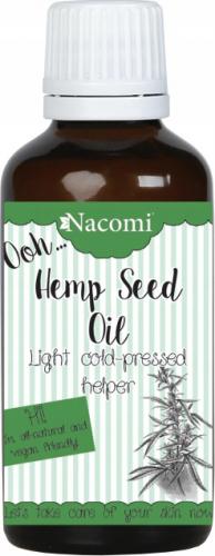 Nacomi - Hemp Seed Oil - Olej z konopi indyjskiej - Nierafinowany -  30ml