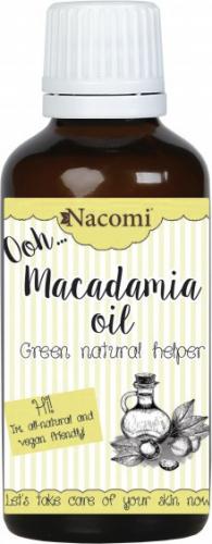 Nacomi - Macadamia Oil - Olej macadamia - Rafinowany - 30ml
