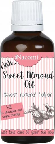 Nacomi - Sweet Almond Oil - Naturalny olej ze słodkich migdałów - Rafinowany - 30ml