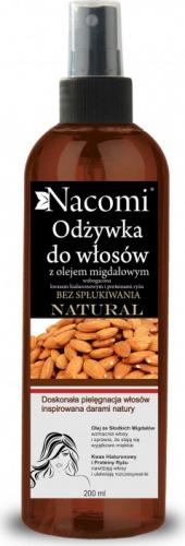 Nacomi - Odżywka do włosów z olejem migdałowym - Bez spłukiwania
