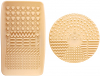 Nanshy - MAKEUP BRUSH CLEANING PADS - A set of 2 brush cleaning pads