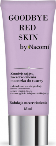 Nacomi - SAY BYE TO RED SKIN - Maseczka do twarzy zmniejszająca zaczerwienienia - 85ml
