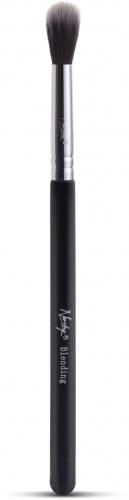 Nanshy - Large Blending Brush - Pędzel do blendowania cieni - Onyx Black