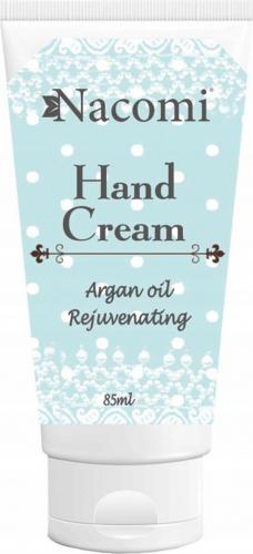 Nacomi - Hand Cream - Odmładzający krem do rąk z olejem arganowym - 85ml