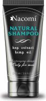 Nacomi - NATURAL SHAMPOO for men - Naturalny szampon do włosów dla mężczyzn - 250 ml