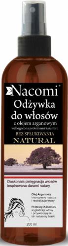 Nacomi - Odżywka do włosów z olejem arganowym - Bez spłukiwania