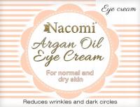 Nacomi - Argan Oil Eye Cream - Eye cream with Moroccan argan oil and grape seed oil