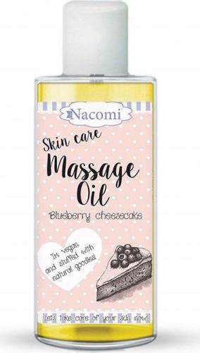 Nacomi - Skin Care Massage Oil - Olejek do ciała - Jagodowy sernik