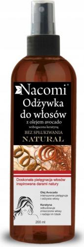 Nacomi - Odżywka do włosów z olejem avocado - Bez spłukiwania