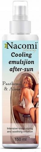 Nacomi - Sunny Cooling After Sun Emulsion - Balsam chłodząco-nawilżający po opalaniu w sprayu - 150ml