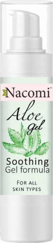 Nacomi - Aloe Gel - Aloesowe serum do twarzy w żelu
