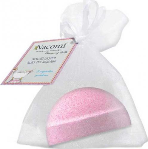 Nacomi - Fizzing Bath Bomb - Musująca półkula do kąpieli - Malina