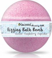 Nacomi - Fizzing Bath Bomb - Musująca kula do kąpieli - Malina