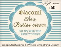 Nacomi - Shea Butter Cream - Krem do twarzy z masłem Shea i trójpeptydem na noc - 50+