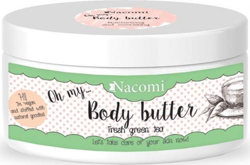 Nacomi - Body Butter - Masło do ciała - Orzeźwiająca zielona herbata