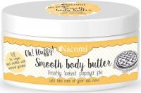 Nacomi - Smooth Body Butter - Lekkie masło do ciała - Świeże ciasto z papają
