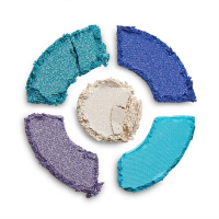 I Heart Revolution - Dounats Eyeshadow Palette - Paleta 5 cieni do powiek - Blueberry Crush