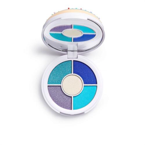 I Heart Revolution - Donuts Eyeshadow Palette - Paleta 5 cieni do powiek - Blueberry Crush
