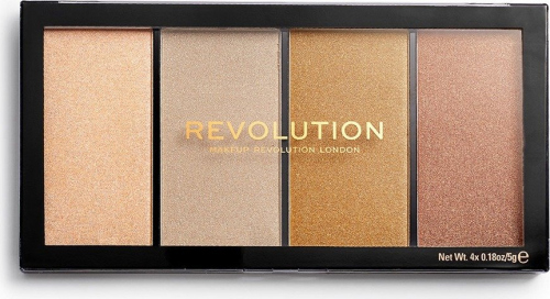 MAKEUP REVOLUTION - RE-LOADED - LUSTRE LIGHTS - Paleta do konturowania - HEATWAVE