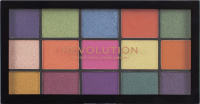 Makeup Revolution - RE-LOADED Shadow Palette - set of 15 eyeshadows - PASSION FOR COLOR