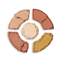 I HEART REVOLUTION - Dounats Eyeshadow Palette - Paleta 5 cieni do powiek - Maple Glazed