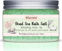 Nacomi - Dead Sea Bath Salt - Bath salt from the Dead Sea - Green tea - 450g