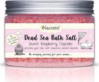 Nacomi - Dead Sea Bath Salt - Sól do kąpieli z Morza Martwego - Malinowa babeczka - 450g